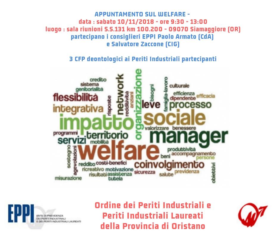 Incontro Eppi sul Welfare 10 novembre 2018