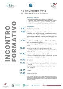 16 novembre 2018 incontro formativo